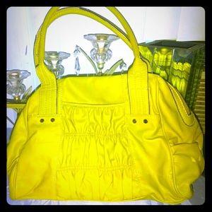 ELLE Lime Green Large Handbag
